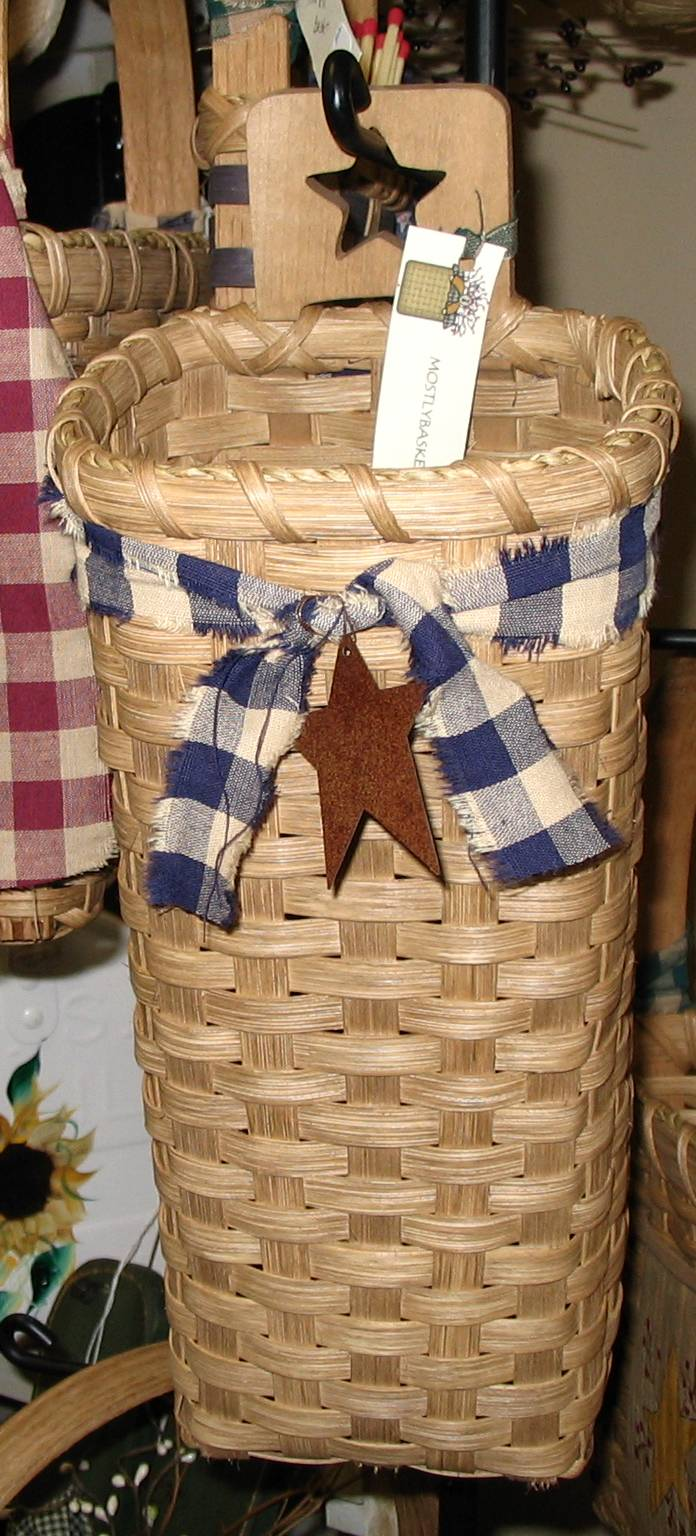 Country Candle Baskets