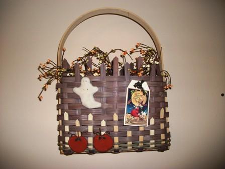 Halloween Door Basket