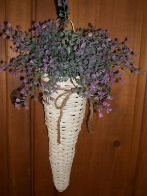 Cone-Shaped Door Basket