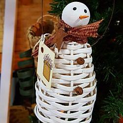 #23SNM Orny Snowman Ornment