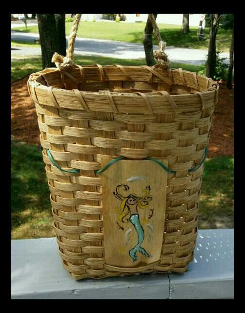 Mermaid Wall Basket